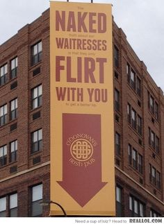 Best Bar Ad...ever.