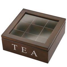 New 9 Division wooden Tea Box @Alison Hobbs Martin :D