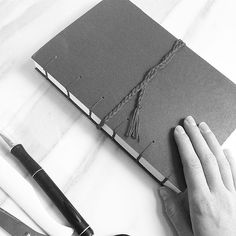 Love finishing up journals especially those that will be given to people who have amazing stories to tell.  #life #stories #tellyourstory #journal #handmade #book #bookbinding #bindery #happiness #work #daily