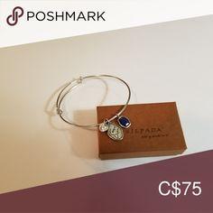"""Silpada bangle w Swarovski crystal & lapis charms Silpada 925 sterling silver """"Carpe Diem"""" adjustable bangle with Swarovski crystal and lapis charms. Worn 2 or 3 times, like new condition, comes with Silpada bag/box. Silpada Jewelry, Jewelry Bracelets, Bangles, Adjustable Bracelet, Carpe Diem, Swarovski Crystals, Charms, Women Jewelry, Times"""