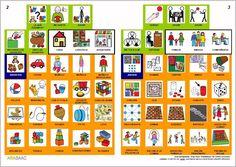 MATERIALES - Libro de ocio (2)    Libro de comunicación temático sobre el ocio, elaborado por el equipo de ARASAAC, para diferentes situaciones comunicativas. Los libros de comunicación son la esencia de la Comunicación Aumentativa y Alternativa, en tanto compilan en una sola hoja por las dos caras todos los términos necesarios para establecer una comunicación funcional en una determinada situación.     http://arasaac.org/materiales.php?id_material=553