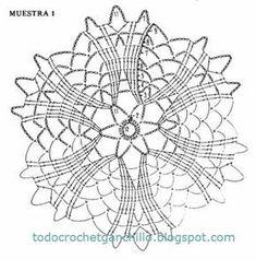 Crochet Snowflake Pattern, Crochet Motif Patterns, Christmas Crochet Patterns, Crochet Stars, Crochet Circles, Crochet Snowflakes, Crochet Blocks, Crochet Diagram, Crochet Doilies