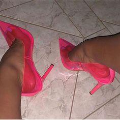 u wear heels ? If so which heels of these 2 would u wear ? Do u wear heels ? If so which heels of these 2 would u wear ? High Heels Boots, Pumps Heels, Stiletto Heels, Women's Stilettos, Heeled Sandals, Pink Heels, Lace Up Heels, Neon Heels, Pink Boots