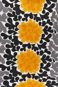 fabric 1960s