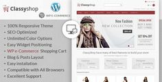 Discount Deals ClassyShop - Wordpress E-Commerce ThemeWe provide you all shopping site and all informations in our go to store link. You will see low prices on