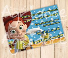 Convite Virtual Toy Story