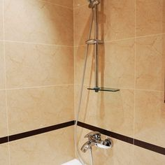 Soap can leave a layer of soap scum on bathroom grout.