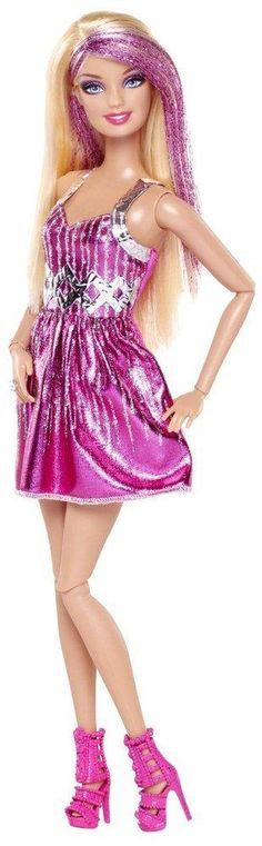 Barbie Fashionistas Barbie Doll - Pink and Silver Dress - Wooow barbie. ¿Me regalas tu vestido? :D Jeje :D Barbie Dress, Pink Dress, Pink Barbie, Chloe, Barbie Toys, Barbie Fashionista, Bratz Doll, Glamour, Silver Dress