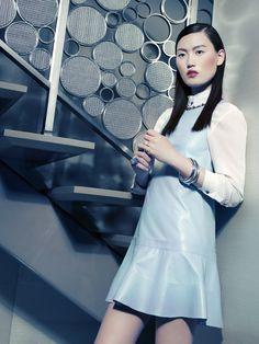 VOGUE CHINA:  Photographer: Benjamin Kanarek, Judy Inc