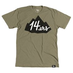 14ers T-shirt – Stately Type