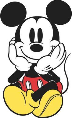 Ich liebe diese Bilder, wo Mickey einfach bezaubernd aussieht.