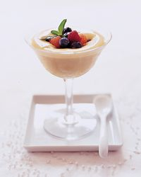 Sweet Wine Sabayon with Berries Recipe on Food