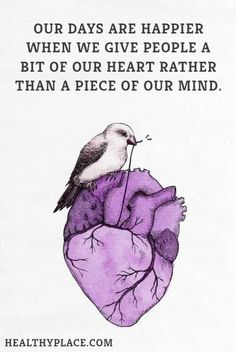 Give a bit of your heart