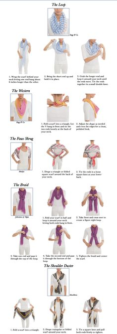 The Art Of Scarf Tying
