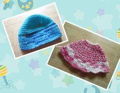 Sweet Nothings Crochet: SIS & BRO BEANIES
