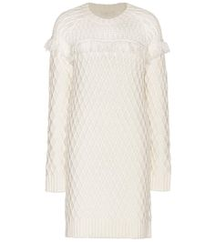 TORY BURCH Knitted Sweater Dress. #toryburch #cloth #dresses
