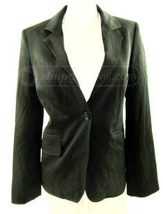 shopgoodwill.com: Burberry Women's Black Blazer Size: 4