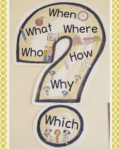 For some time, this question mark depends on my fives in the classroom. Currently we repeat the questions with questionnaire for the . English Primary School, English Grammar For Kids, English Grammar Worksheets, English Reading, Grammar Lessons, Teaching English, English Classroom Posters, English Posters, English Lessons