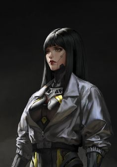 ArtStation-motion + Reform, Ley Bowen Zhang The Effective Pictures We Offer You About Character Design animation A quality picture can Cyberpunk Kunst, Mode Cyberpunk, Cyberpunk Girl, Cyberpunk Aesthetic, Cyberpunk 2077, Cyberpunk Fashion, Cyborg Girl, Female Cyborg, Female Character Design
