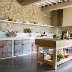 Cocinas de estilo rústico de Marcello Gavioli