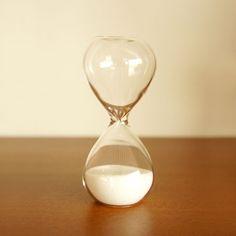 白い砂時計 3分計【包装】【のし】