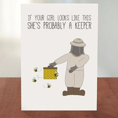 140 best buzz greetings greeting cards images on pinterest shes a keeper digital printable card both he she m4hsunfo