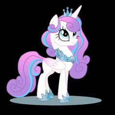 Princess Flurry Heart. Honestly I think her wings should be a bit much bigger, since her wings were abnormally huge when she was a baby