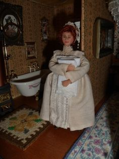 Victorian or Edwardian upstairs maid sold
