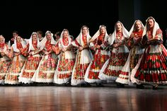 Croatian Folklore Costumes from Turopolje. (Turopolje forms a part of Posavina, a region to the south of Zagreb bordering the right banks of the Sava river on the northeast, and the Vukomeričke gorice hills to the southwest.)