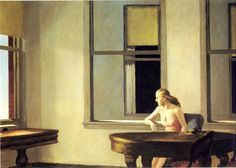 City Sunlight by Edward Hopper I just love anything by this artist.  So simple and can tell a thousand stories.  Try one.