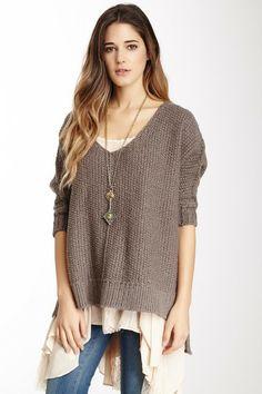 Free People on HauteLook chunky sweater
