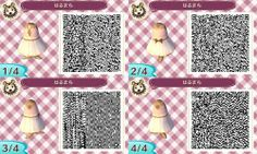 Awesome summer dress for Animal Crossing: New Leaf! :3