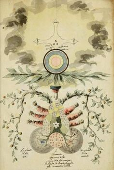 Rosicrucian Alchemy from Manly Palmer Hall collection / Sacred Geometry <3