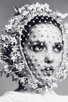 Donna Mitchell by Richard Avedon (featured in Harper's Bazaar Spain July/August 2014).