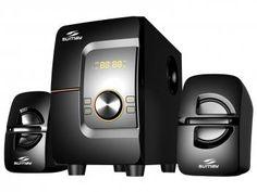 Caixa de Som 2.1 Canais 28W Bluetooth - Sumay SM-CS3690B
