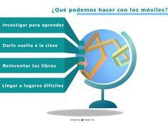Cuatro maneras de utilizar los móviles en el aula