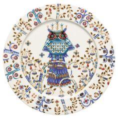 Taika Porcelain Dinner Plate in White  at Joss and Main