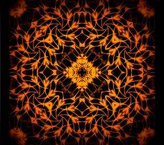 mettre en relation avec feu ; entrar em contacto com o fogo;liaise with fire;servir de enlace con el fuego;kapcsolattartás a tűz; Mandala de Pierre Vermersch