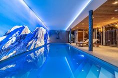 Chalet Largo - villa Chalet Largo Megeve | Isle Blue Jacuzzi, Grands Salons, Alpine Style, Ski Holidays, Beautiful Pools, Spa Services, Workout Rooms, Great Rooms, Luxury Homes