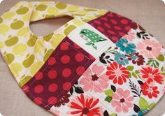 Bib Tutorial- when I get a sewing machine I am going to make these.