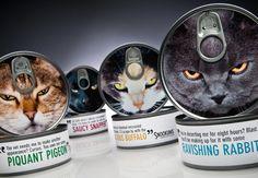 LOVE Snookums cat food package