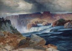 The Chrysler Museum of Art will explore the heights of the American watercolor movement in Watercolor: An American Medium. On view Feb. the exhibition features . Chrysler Museum, Thomas Moran, Hudson River School, Landscaping Software, Art Database, New Art, Art Museum, Landscape, American