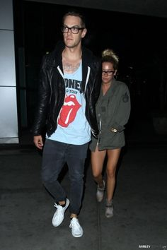 Ashley Tisdale Leaving ArcLight Cinemas with Chris French in Hollywood On July 22nd.