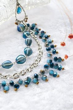 Make this Multilayer Necklace with All-In-One DIY kit from DoreenBox.com. Detail tutorial included. USD 16.9