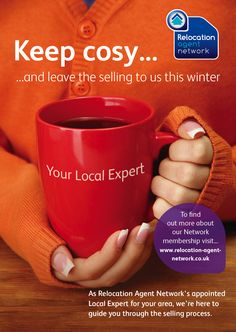 Keep cosy and leave selling to us this Winter.  As your local Relocation Agent Network Specialist we are here to help guide you through the selling process.