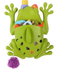 Frog Pod Bath Toy Scoop, Drain and Storage