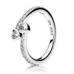 PANDORA Valentines Forever Hearts Ring 191023CZ