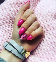 #nails #rozowy #rozowe #pink #paznokcie by inez.pysyk