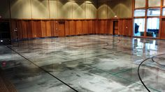 Elite Crete Reflector Epoxy | Basketball Court Gets Custom Epoxy Flooring