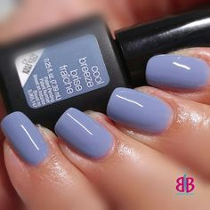 Cool Breeze #sensationail #gelnails #gelmanicure #serenity #pantone